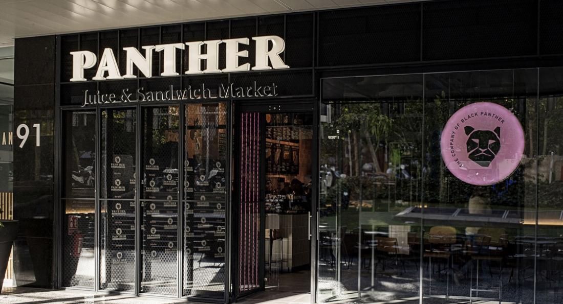 Grupo Restalia inaugura su nueva franquicia Panther Juice & Sandwich Market